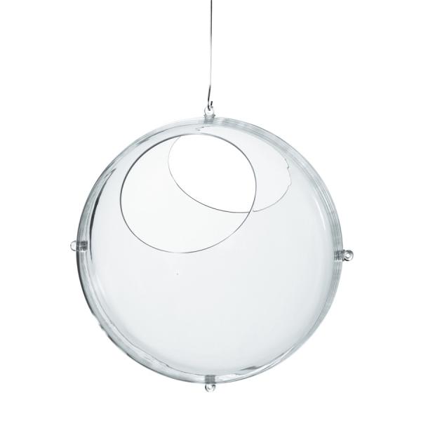 Круглый органайзер orion, прозрачный