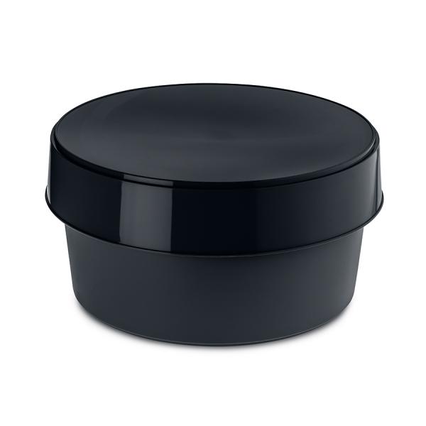 Контейнер для хранения с крышкой top secret, чёрный