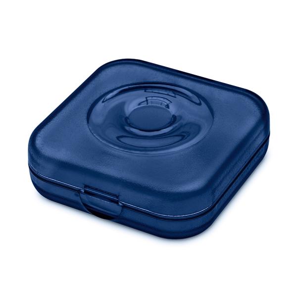 Шкатулка private box, прозрачная синяя