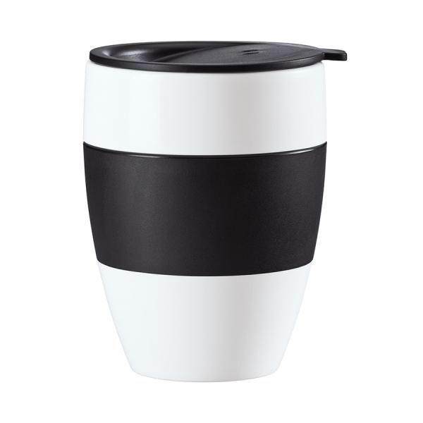 Термокружка aroma to go 2.0, 400 мл, чёрно-белая