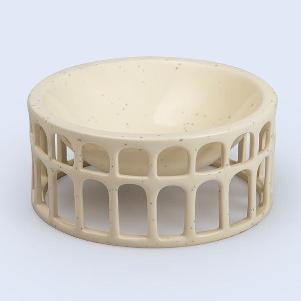 Миска сервировочная керамическая hestia белая