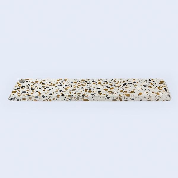 Доска для сыра terrazzo 68 см, белая