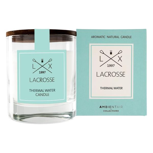 Ароматическая свеча в стекле «термальный источник» lacrosse круглая