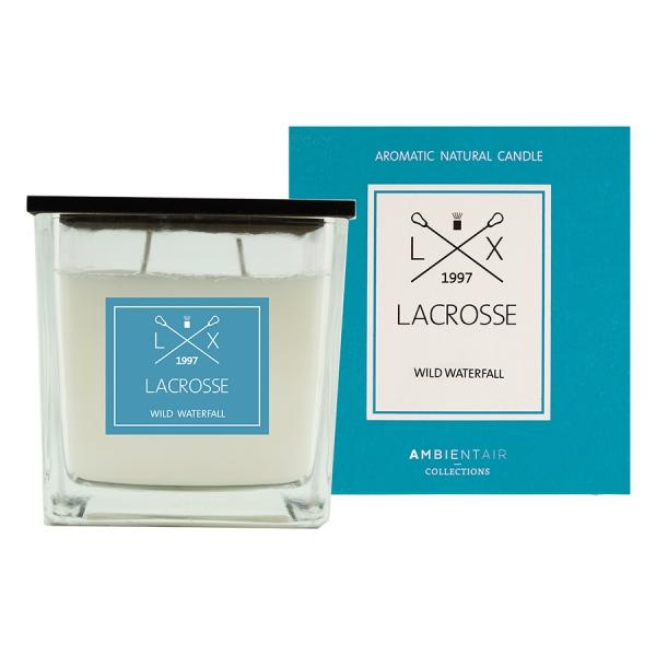Ароматическая свеча в стекле «дикий водопад» lacrosse 10х10 см