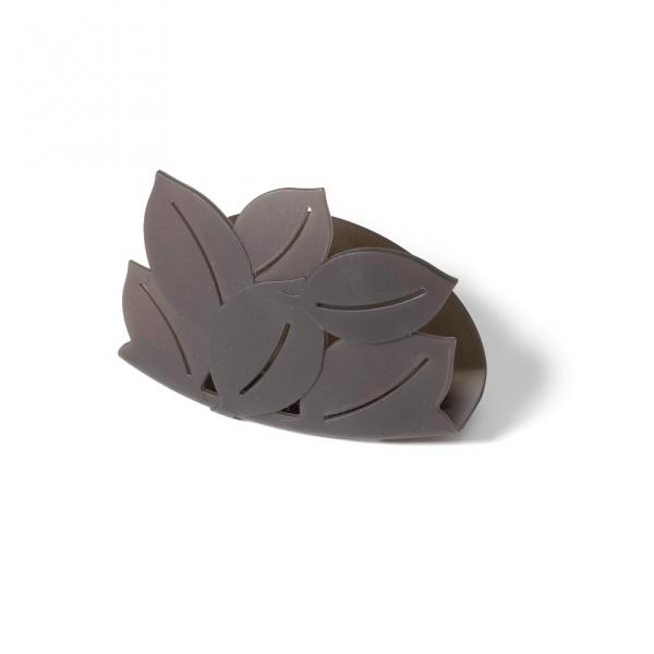 Держатель для губки foliage тёмно-серый