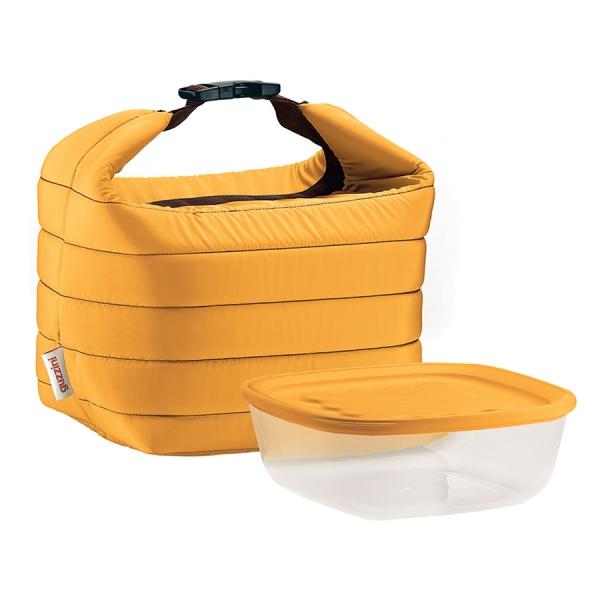Набор термосумка+контейнер handy малый жёлтый