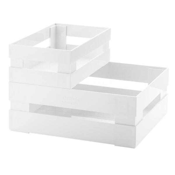 Набор из 2 ящиков tidy & store белый