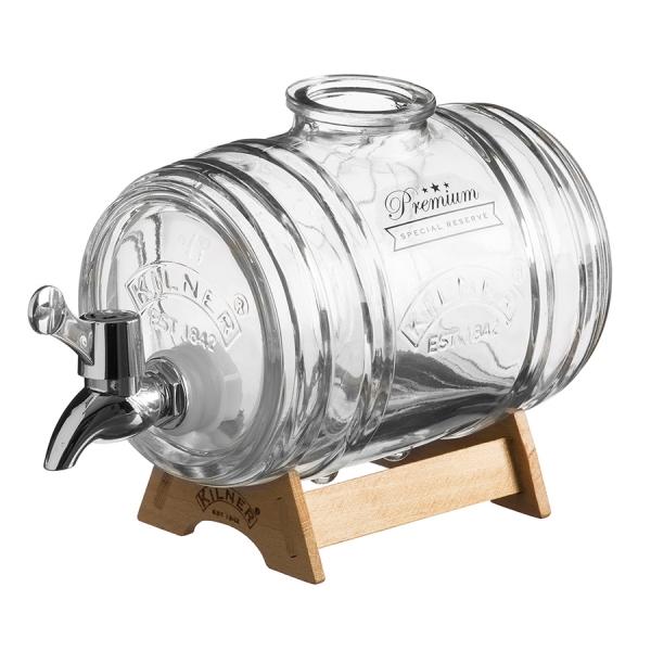 Лимонадник barrel на подставке 1 л