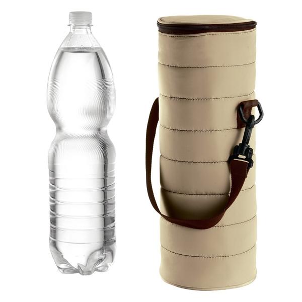 Набор термосумка+бутылка handy бежевый