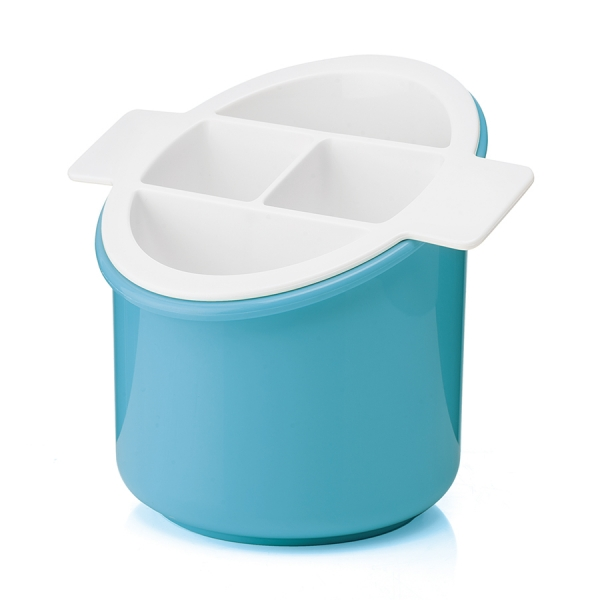 Сушилка для столовых приборов forme casa classic голубая