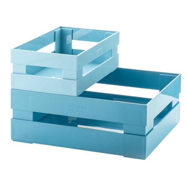 Набор из 2 ящиков tidy & store голубой