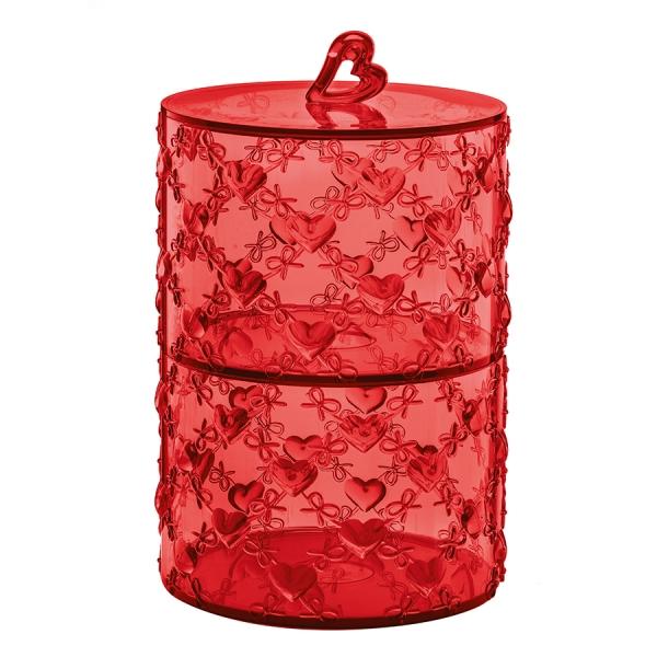Набор из 2 контейнеров love красный