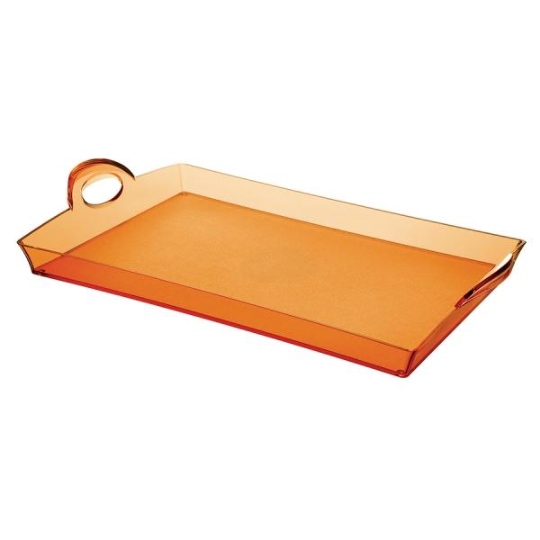 Поднос happy hour оранжевый