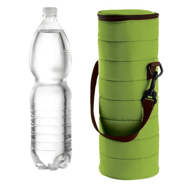 Набор термосумка+бутылка handy зелёный