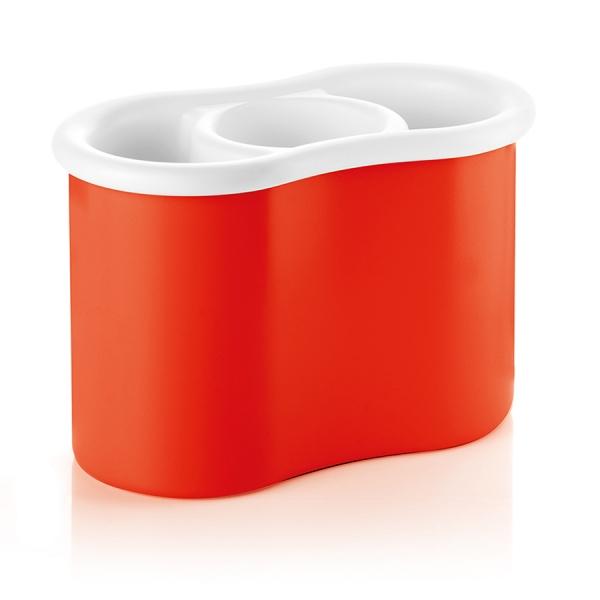Сушилка для столовых приборов forme casa красная