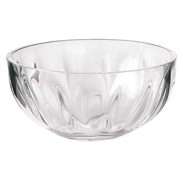 Салатница aqua xl 30 см прозрачная