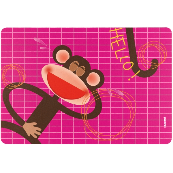 Коврик сервировочный детский hello обезьяна