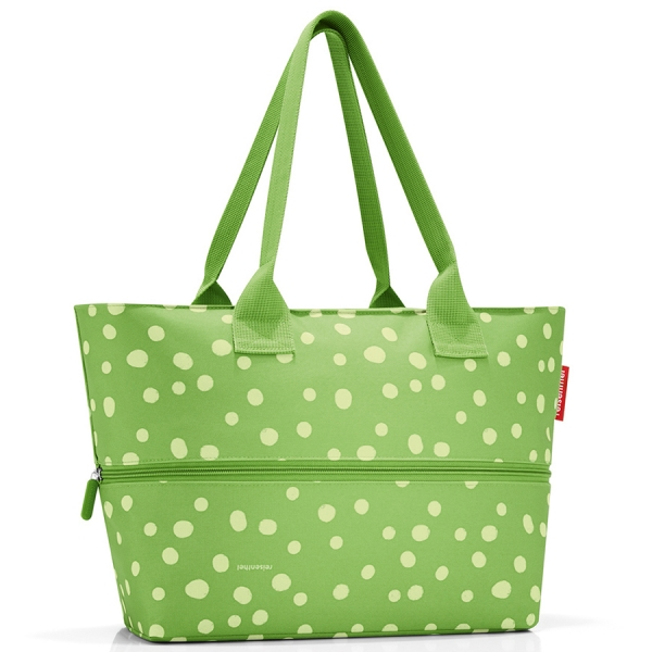 Сумка shopper e1 spots green