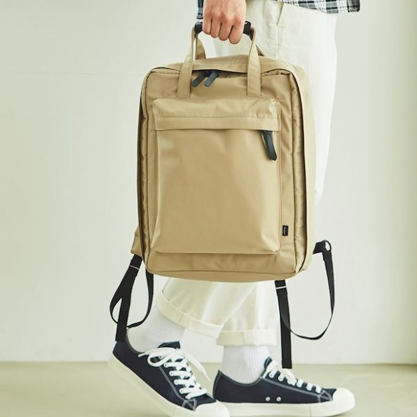 Рюкзак OVERNIGHT BACKPACK ITHINKSO BASIC бежевый