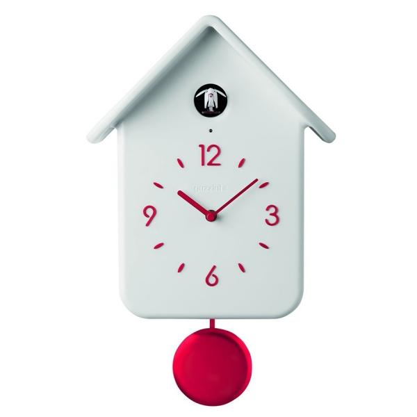 Часы с кукушкой qq белые