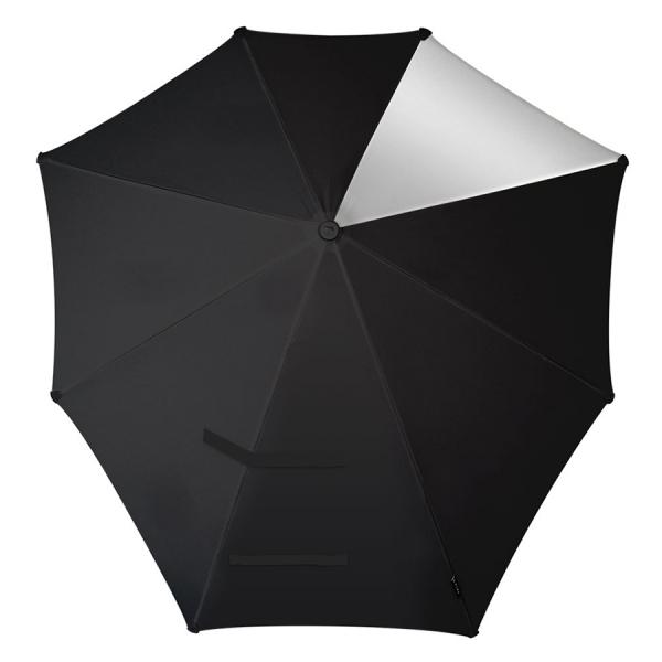 Зонт-трость senz° original silver reflections