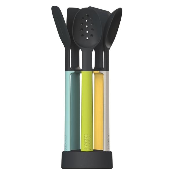 Набор силиконовых кухонных инструментов elevate™ Оpal на подставке