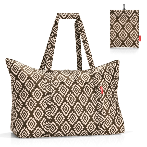 Сумка складная mini maxi travelbag diamonds mocha