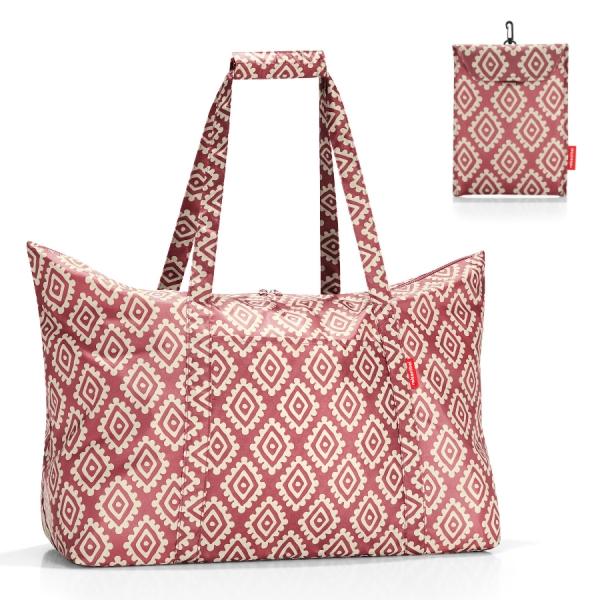 Сумка складная mini maxi travelbag diamonds rouge