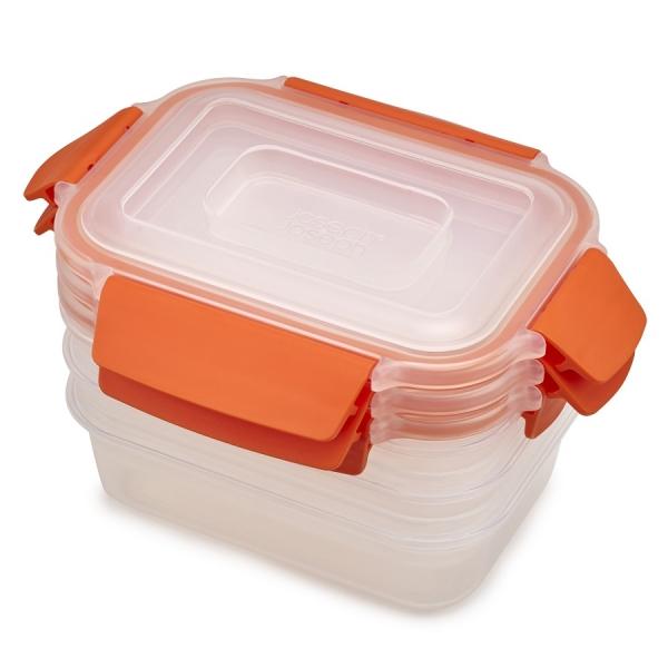 Набор из 3 контейнеров nest lock 540 мл оранжевый